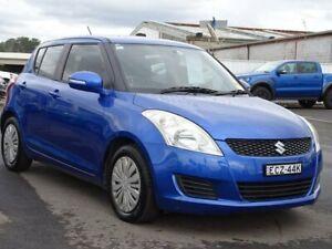 2013 Suzuki Swift FZ GL Blue 5 Speed Manual Hatchback Albion Park Rail Shellharbour Area Preview