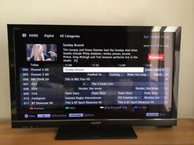 """Sony KDL46HX803 46"""" FULL HD LCD TV with Freeview HD, 3D. 6 MONTH WARRANTY, NO FOOT!"""