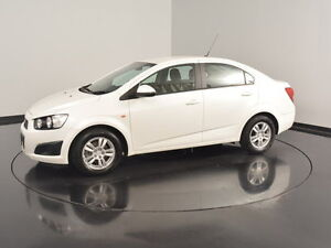 2013 Holden Barina TM MY14 CD White 5 Speed Manual Sedan Welshpool Canning Area Preview