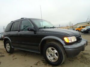 2002 Kia Sportage EX SPORT PKG--RUNS ANS DRIVES EXCELLENT