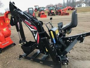 Wallenstein RanchHo GX920 3pt mount Backhoe