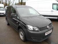 Volkswagen Caddy MAXI 1.6TDI 102PS VAN DIESEL MANUAL BLACK (2013)