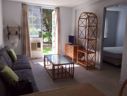 FULLY FURNISHED 1 bedroom ground floor apartment Highgate Highgate Perth City Preview