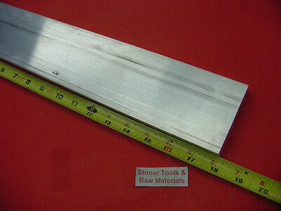 34 X 3-12 Aluminum 6061 Flat Bar 18 Long T6511 Solid Plate Mill Stock