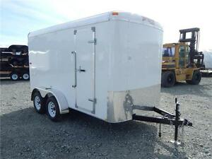 NEW 6x12 CARGO ENCLOSED TRAILER RAMP DOOR TANDEM XTRA TALL7000LB