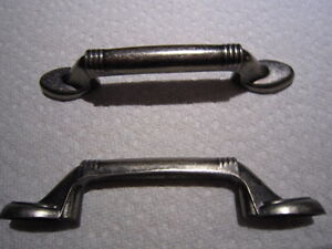 antique stainless steel cupboard handles