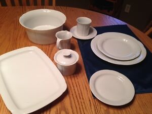 Porcelain Dish Service for 12