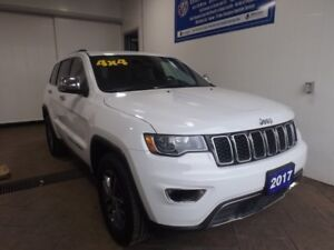 2017 Jeep Grand Cherokee LIMITED 4WD LEATHER SUNROOF