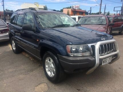 2001 Jeep Grand Cherokee WG MY2001 Laredo Blue 5 Speed Automatic Wagon