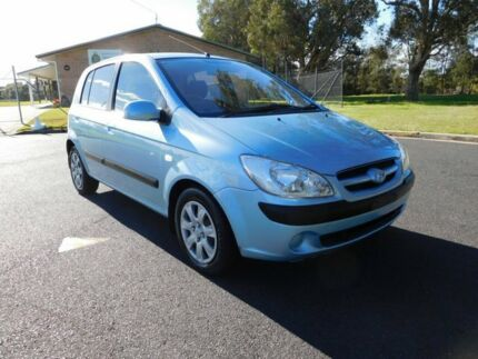 2007 Hyundai Getz TB MY07 SX Blue 4 Speed Automatic Hatchback Ballina Ballina Area Preview