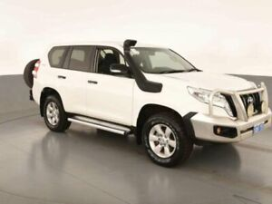 2015 Toyota Landcruiser Prado GDJ150R MY16 GX (4x4) Glacier White 6 Speed Automatic Wagon