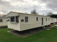 Pre owned Static Caravan at Weymouth Bay Dorset Site fees inc until 2019