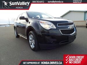 2012 Chevrolet Equinox LS 4X4, Bluetooth, No accidents, One Owne