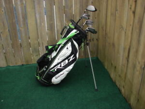 Men's Right Hand Taylormade golf clubs sets with Taylormade bag