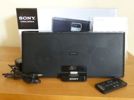 Sony Speaker & Docking Station for iPhone & iPod