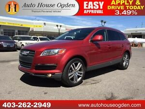 2009 Audi Q7 4.2 LEATHER ROOF NAVI 7 PASSENGER 90DAYNOPAYMENTS