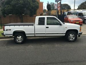 1996 Chevrolet Silverado 1500 White Automatic Melbourne CBD Melbourne City Preview