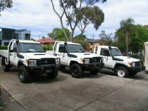 2013 Toyota Landcruiser VDJ79R 09 Upgrade GX (4x4) White Cab Chassis Roselands Canterbury Area Preview