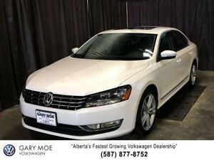 2012 Volkswagen Passat 3.6L Highline, Sunroof, Remote Start