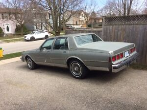1984 Caprice Classic. Asking 4K, Willing to Negotiate