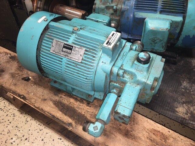 2 HP Nachi Variable Vane Pump & Motor, VDR-1B-1A3-B-1478A, UVD-1A-A3-1.5-4-1498A