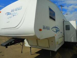 FAMILY FIFTH WHEEL 2002 MAKO . GREAT PRICE!!