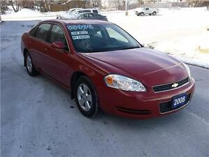 2008 CHEVROLET IMPALA LT *** LOADED *** LOW KMS ***