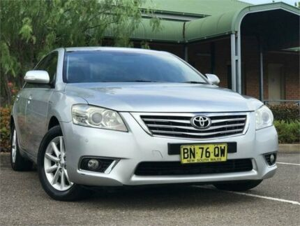 2009 Toyota Aurion GSV40R Prodigy Sedan 4dr Spts Auto 6sp, 3.5i [MY10 Silver Sports Automatic Sedan