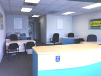 Furnished office in Busy Plaza!