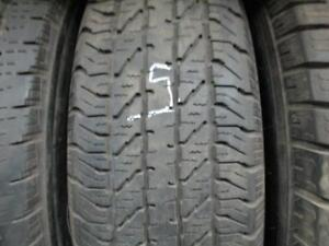 225/75R16 SINGLE ONLY USED COOPER A/S TIRE