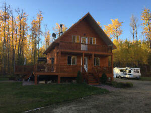 Beautiful cabin house in Strthcona County