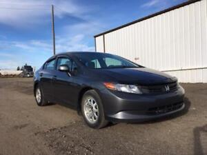 2012 Honda Civic Sdn LX - 3 MTH WARRANTY! CALL 7802920313