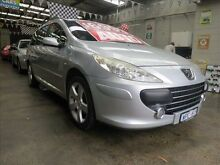 2008 Peugeot 307 MY06 Upgrade XS 1.6 Silver 4 Speed Tiptronic Hatchback Mordialloc Kingston Area Preview