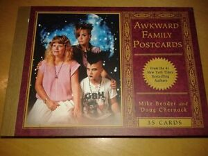 Awkward Family Photos Post Card Book Cambridge Kitchener Area image 1