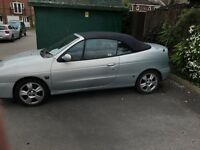Renault Megan Cabriolet for parts or enthusiast