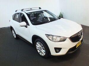 2012 Mazda CX-5 Grand Tourer (4x4) White 6 Speed Automatic Wagon Clemton Park Canterbury Area Preview