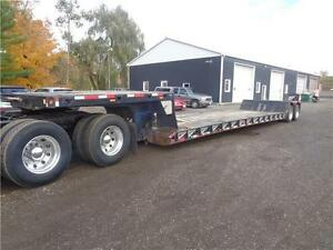 2004 BWS DOUBLE DROP WITH REMOVABLE GOOSE NECK TRAILER Kitchener / Waterloo Kitchener Area image 2
