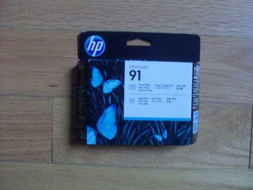 2021 GENUINE HP #91 Photo Black/Light Gray PRINTHEAD DESIGNJET Z6100 C9463A NEW