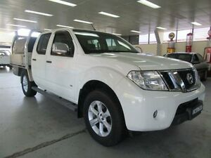 2012 Nissan Navara D40 MY12 ST-X 550 (4x4) White 7 Speed Automatic Dual Cab Utility Fyshwick South Canberra Preview