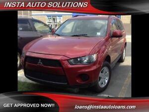 2013 Mitsubishi Outlander ES 4WD - LOW KM - Great on gas!!