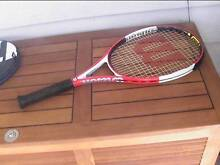 Wilson PS 26 six one tennis racquet grip size 4 1/8 Belmont South Lake Macquarie Area Preview