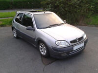 Saxo VTR Lowered front legs