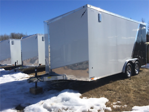 $500 Savings - Lightning 2 place Aluminum Cargo 8 X 16