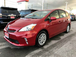 2012 Toyota Prius v ONE OWNER+SNOW TIRES!
