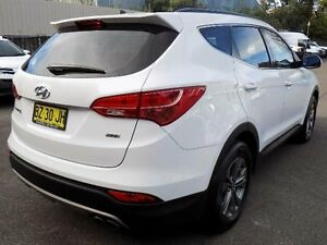2014 Hyundai Santa Fe DM Active CRDi (4x4) White 6 Speed Automatic Wagon West Gosford Gosford Area Preview