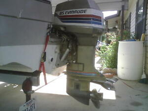 1977 85HP Evinrude outboard seized top end