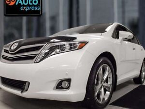 2015 Toyota Venza LIMITED AWD, NAV, twin panel sunroof, power li