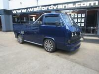 1987 Volkswagen Transporter T25 Custom Pick Up *Subaru Imreza Engine* Petrol blu