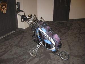 Golf Clubs right hand, bag, cart pkg London Ontario image 3