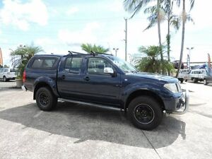 2007 Nissan Navara D40 ST-X Blue 6 Speed Manual Utility Caboolture South Caboolture Area Preview